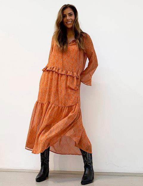 Fasjonable Køb Second Female Kentucky Kjole - Print - MESSAGE EQ-25